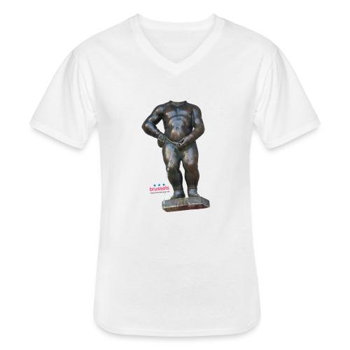 mannekenpis Real Big ♀♂ | 撒尿小童 - T-shirt classique col V Homme
