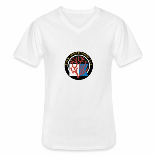Royal Wolu Plongée Club - T-shirt classique col V Homme