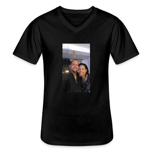 15844878 10211179303575556 4631377177266718710 o - Camiseta clásica con cuello de pico hombre