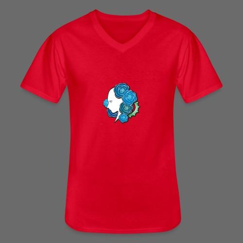 Rosa - T-shirt classique col V Homme