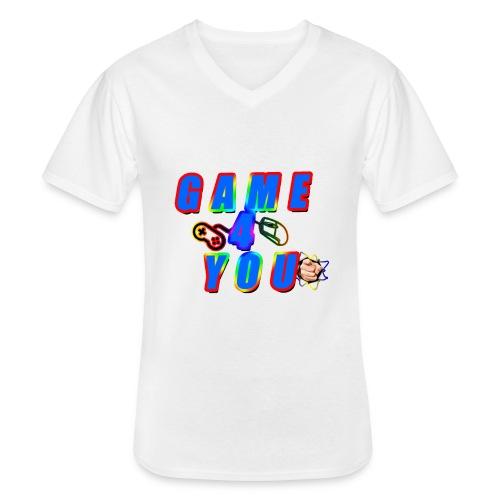 Game4You - Men's V-Neck T-Shirt