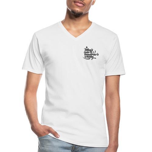 Today's Rain - Men's V-Neck T-Shirt