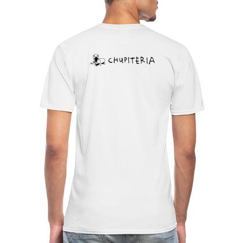 Chupiteria Brand 2.0 POS - Klassisches Männer-T-Shirt mit V-Ausschnitt