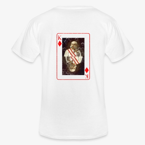 Kaiser Franz von Österreich spielkarte - Klassisches Männer-T-Shirt mit V-Ausschnitt