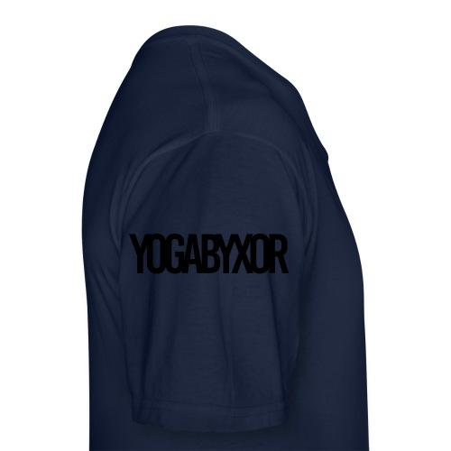 yogabyxor1 - Klassisk T-shirt med V-ringning herr