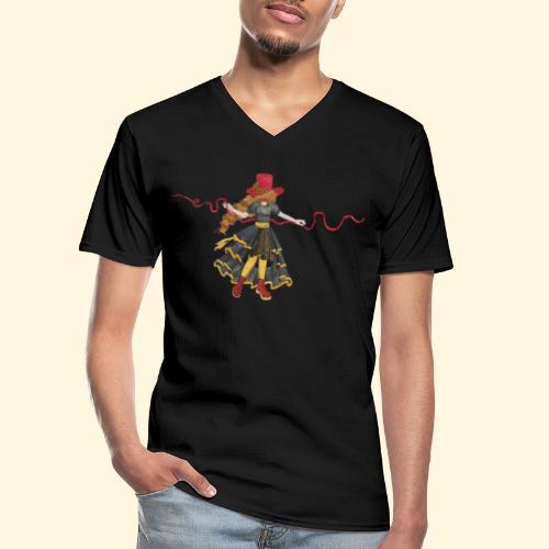 Ladybird - La célèbre uchronaute - T-shirt classique col V Homme