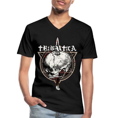 Death Attack by BY TRIBUTICA® - Klassisches Männer-T-Shirt mit V-Ausschnitt