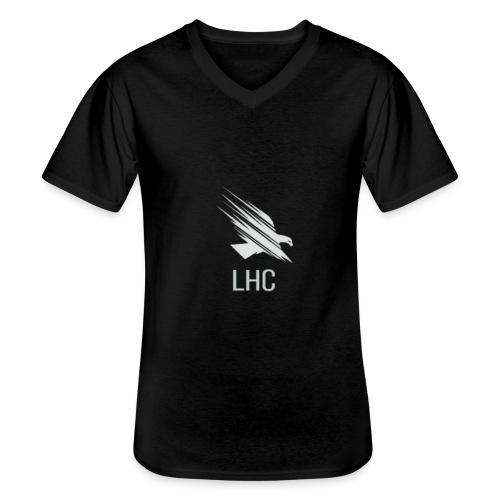 LHC Light logo - Men's V-Neck T-Shirt
