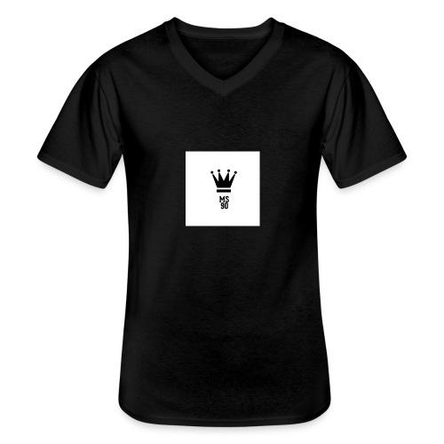 IMG_2074 - Maglietta da uomo classica con scollo a V