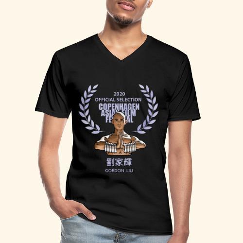 CAFF Official Item - Shaolin Warrior 1 - Klassiek mannen T-shirt met V-hals