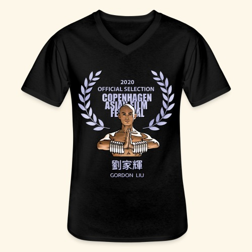 CAFF Official Item - Shaolin Warrior 1 - Klassisk herre T-shirt med V-udskæring