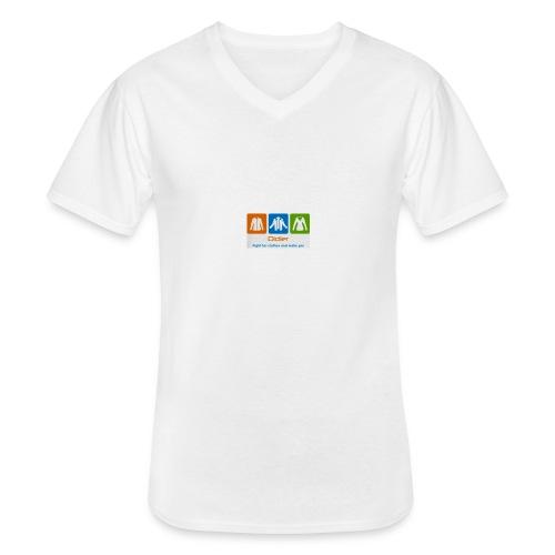 IMG 3596 - Klassisk herre T-shirt med V-udskæring