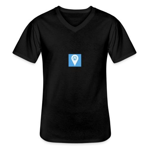 ms icon 310x310 - Klassisk herre T-shirt med V-udskæring