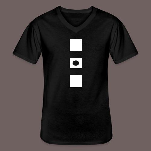 GBIGBO zjebeezjeboo - Rock - Blocs 3 - T-shirt classique col V Homme