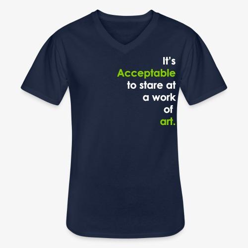 itsacceptable - Men's V-Neck T-Shirt