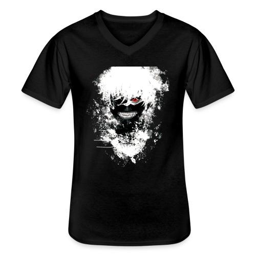 Tokyo Ghoul Kaneki - Men's V-Neck T-Shirt