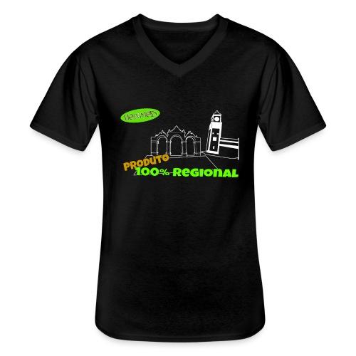 Dark City Gates - Men's V-Neck T-Shirt