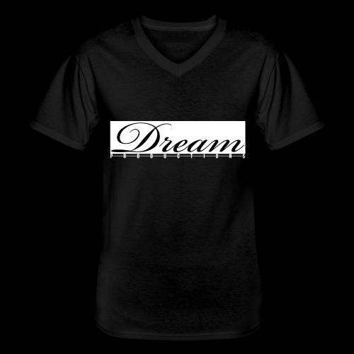 Dream Productions NR1 - Klassisches Männer-T-Shirt mit V-Ausschnitt