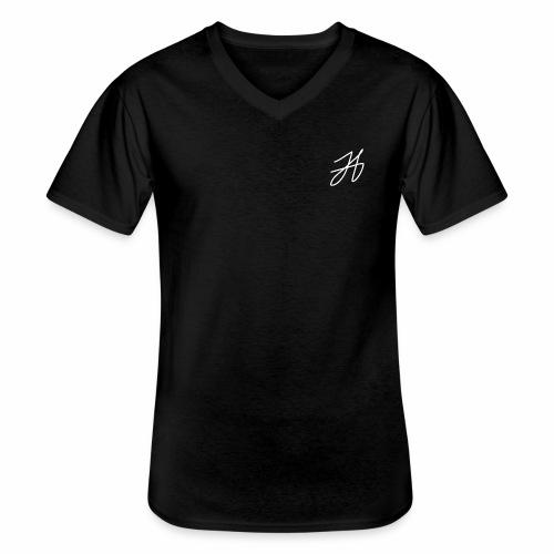 Jenna A - Klassisk T-shirt med V-ringning herr