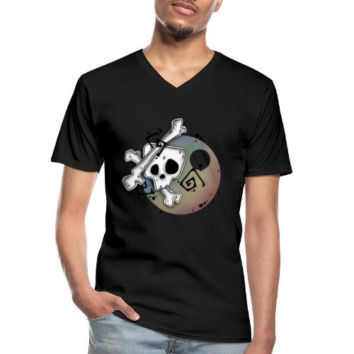 Head Fall - T-shirt classique col V Homme