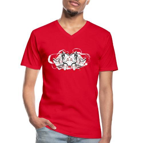 Arauc'Honaya - T-shirt classique col V Homme