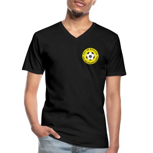 Hildburghausen FSV 06 Club Tradition - Klassisches Männer-T-Shirt mit V-Ausschnitt