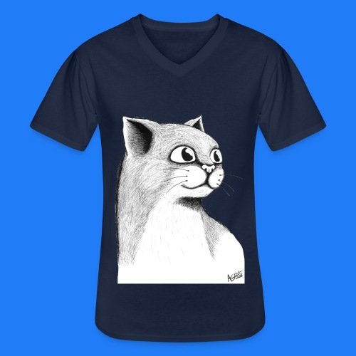 CAT HEAD by AGILL - T-shirt classique col V Homme