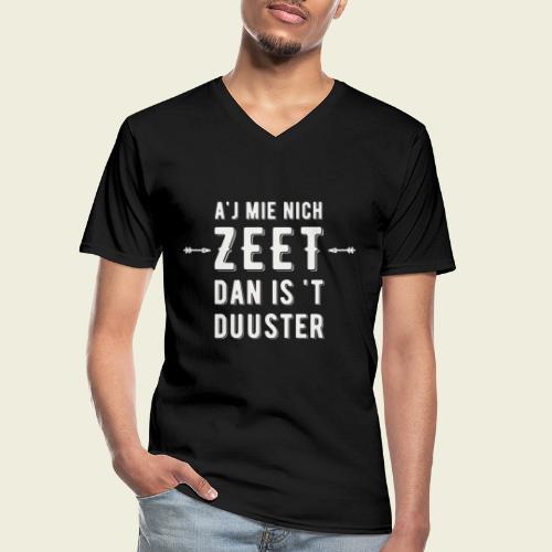 Aj Mie Nich Zeet... - Klassiek mannen T-shirt met V-hals