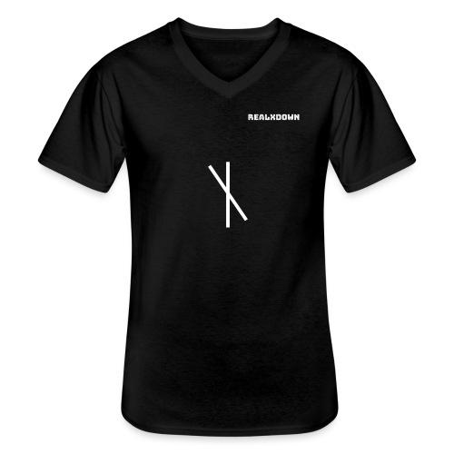realxDown cross - Men's V-Neck T-Shirt