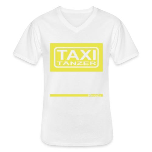 Taxitänzer - Klassisches Männer-T-Shirt mit V-Ausschnitt