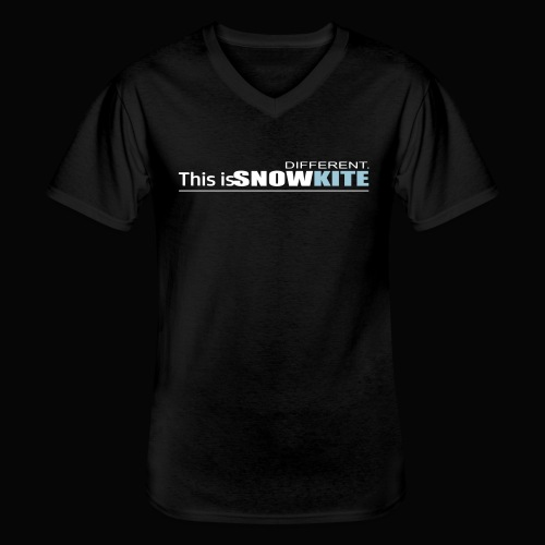 this is snowkite - T-shirt classique col V Homme