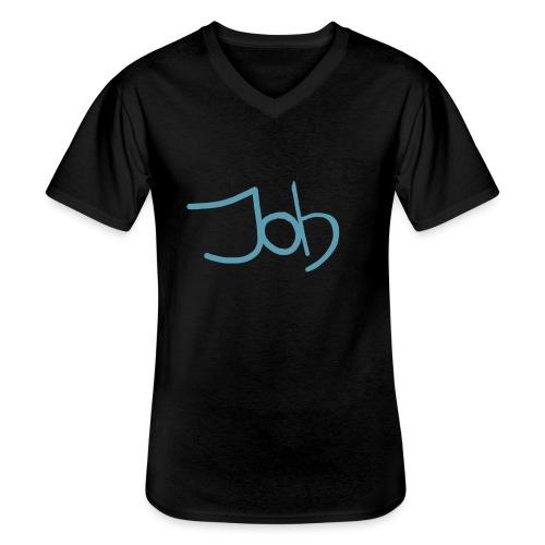 Job - Klassiek mannen T-shirt met V-hals