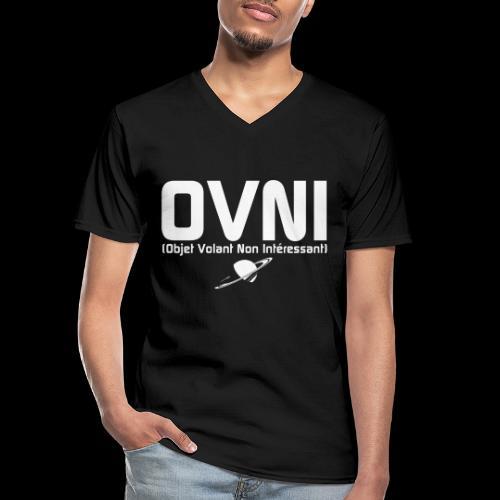 Objet Volant Non Intéressant - T-shirt classique col V Homme