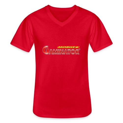 Gaminator logo - Men's V-Neck T-Shirt