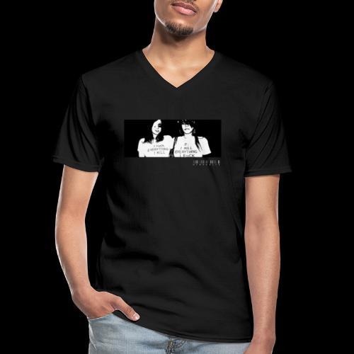 HYDRAULIX PARTY GIRLS - Men's V-Neck T-Shirt