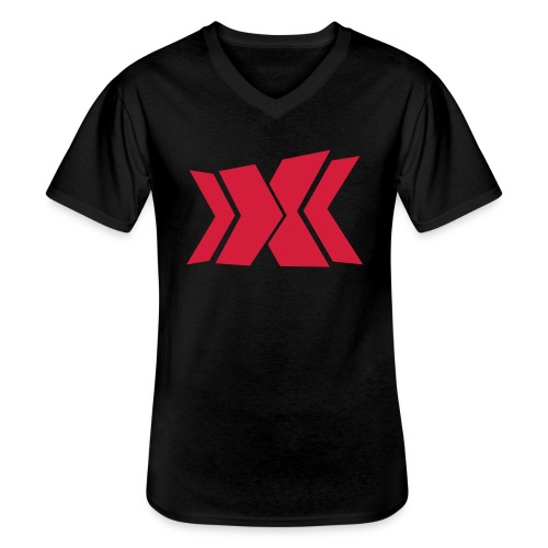 RLC - Klassisches Männer-T-Shirt mit V-Ausschnitt