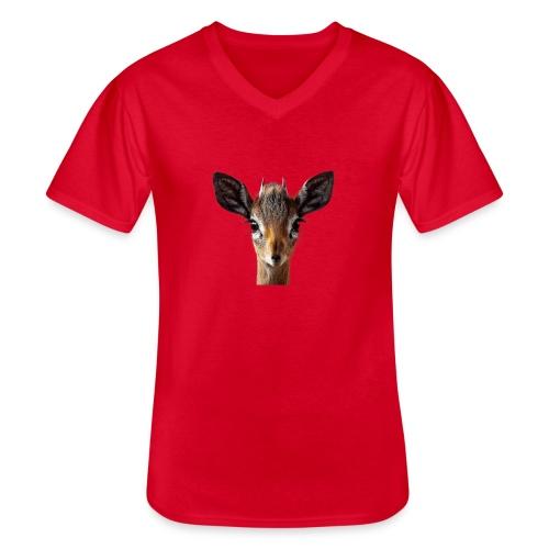 Antilope, Dik - Klassisches Männer-T-Shirt mit V-Ausschnitt