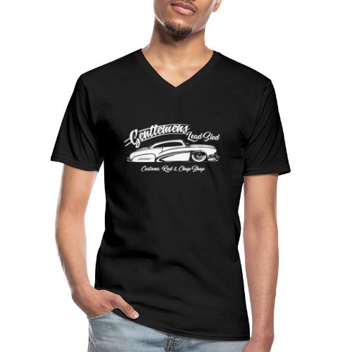 Gentlemans Lead Sled - Klassisches Männer-T-Shirt mit V-Ausschnitt