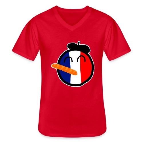 Franceball - Men's V-Neck T-Shirt