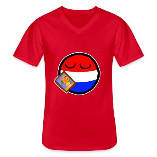 Netherlandsball - Men's V-Neck T-Shirt