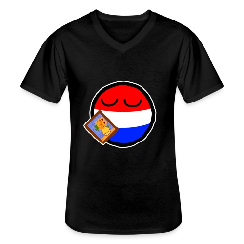 Netherlandsball - Men's V-Neck T-Shirt