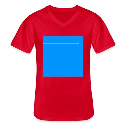 sklyline blue version - T-shirt classique col V Homme