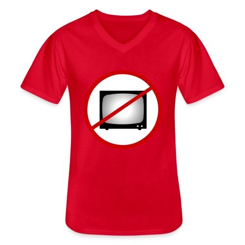notv - Men's V-Neck T-Shirt