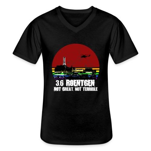 3.6 Roentgen - Not great, not terrible - Klassisches Männer-T-Shirt mit V-Ausschnitt