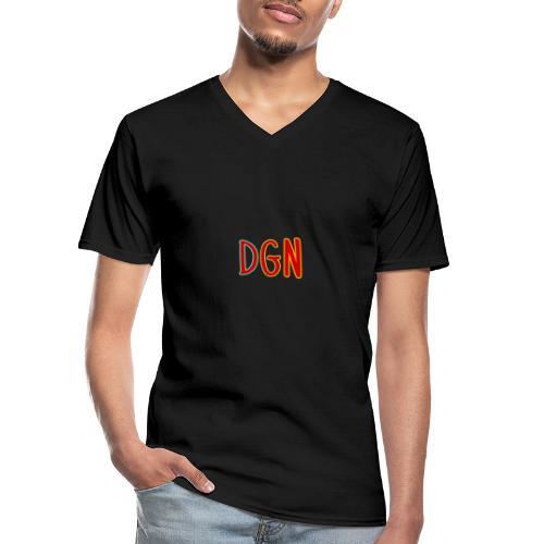 DuoGaming NL - Klassiek mannen T-shirt met V-hals