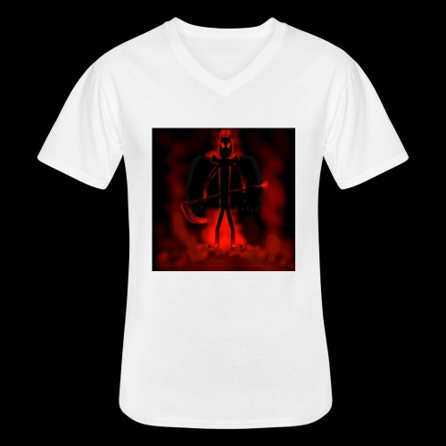 Corrupted Nightcrawler - Men's V-Neck T-Shirt