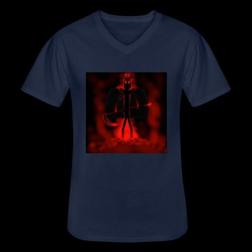 Corrupted Nightcrawler - Men's V-Neck T-Shirt