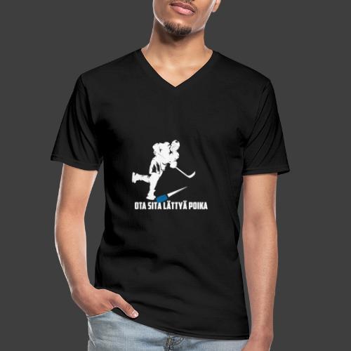 Playmaker edition - Klassinen miesten t-paita v-pääntiellä