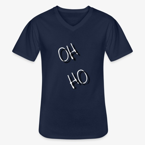 OH HO - Men's V-Neck T-Shirt