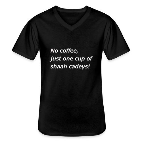 Somali Tee - Klassisches Männer-T-Shirt mit V-Ausschnitt